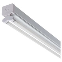RS PRO 94 W Fluorescent Ceiling Light, 230 V Linear Twin Batten, 2 Lamp No, 1.475 m Long, IP20