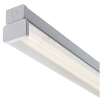 RS PRO Fluorescent Ceiling Light Linear Diffuser, 1 Lamp No, 610 mm Long, IP20