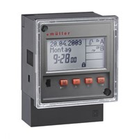 Muller Digital Time Switch 12 V ac/dc, 1-Channel