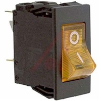 Schurter Snap In Circuit Breaker Switch - 220  240V Voltage Rating, 10A Current Rating