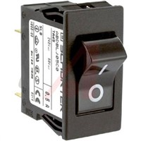 Schurter Snap In Circuit Breaker Switch - 125/250V Voltage Rating, 500mA Current Rating