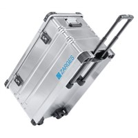Zarges K 424 XC Waterproof Metal Equipment case With Wheels, 800 x 400 x 455mm