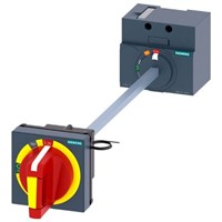 Siemens Door Mounted Rotary Operator Emergency-Stop, For Use With 3VA1 100/160