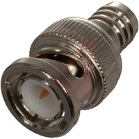 Cinch Connectors Male BNC to RG Quad Cable Coaxial Cable, 50