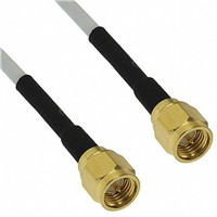 Cinch Connectors Male SMA to Male SMA Coaxial Cable
