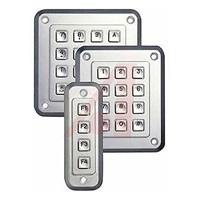 Storm Chromed Die Cast Zinc Keypad Lock