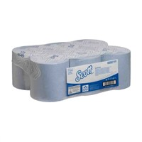 Kimberly Clark Scott Rolled Blue 198 x 200mm Paper Towel, 8400 Sheets