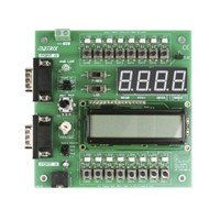 Matrix EB083, E-block Combo Monochrome LCD Display Module