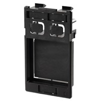 Weidmuller Black Insert Plate Polycarbonate Mounting Frame