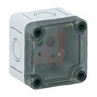 Junction Box; Panel Mnt 2.56x2.56x2.24In