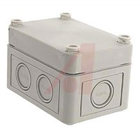 Junction Box; Panel Mnt 2.56x3.70x2.24In