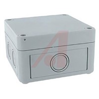 Junction Box; Panel Mnt 3.70x3.70x2.24In