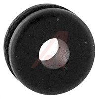 Abbatron Black Styrene-butadiene Round Cable Grommet for 3.962  9.525mm Cable Dia.