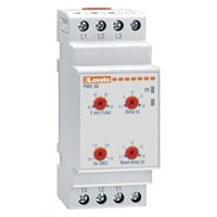 Lovato Voltage Monitoring Relay With SPDT Contacts, 600 V ac Supply Voltage, 3 Phase, Self Powered