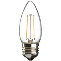 Knightsbridge E27 GLS LED Candle Bulb 2 W(25W), 2700K, Warm White, Candle shape