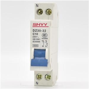 DZ30(DPN)-32 1P+N DZ30-6A 4.5KA Breaking Capacity MCB by SHYY