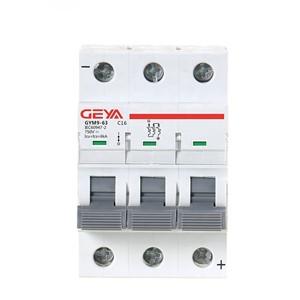GYM9 6KA MCB GYM9-6KA-3P-1A-C Miniature Circuit Breaker by GEYA
