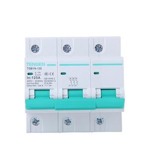 ECVV Miniature Circuit Breaker TGB1N-125 3P TGB1N-1253P-C-125A 6KA TENGEN MCB