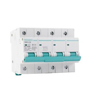 ECVV Miniature Circuit Breaker TGB1N-125 4P TGB1N-1254P-C-80A 6KA TENGEN MCB