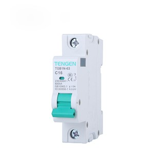 ECVV Miniature Circuit Breaker TGB1N-63 1P TGB1N-631P-C-1A MCB