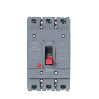 Moulded Case Circuit Breaker, Frame 125A GYCM3-125H-4P-32A, Thermal-Electromagnetic Trip Unit, H Class Breaking Capacity, MCCB