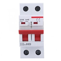 GYH8 TPN Electrical Isolator GYH82P-63A Isolator Switch 2P Auto Switch by GEYA