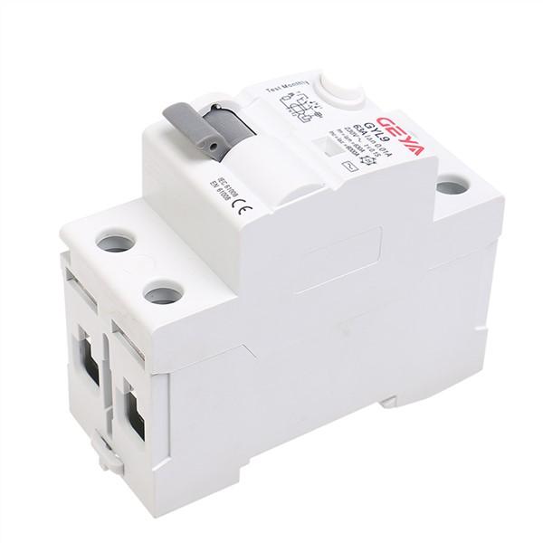 ECVV GYL9 Residual Current Circuit Breaker GYL94P-63A-30mA GEYA ELCB RCCB 4P