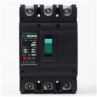 ECVV Moulded Case Circuit Breaker Frame 250 A, TGM1N-250M/3300-250A Breaking Capacity Class M, 3-Pole, Thermomagnetic Tripping, MCCB