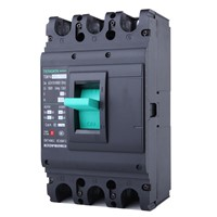 ECVV Moulded Case Circuit Breaker Frame 400 A, TGM1N-400M/3300-400A Breaking Capacity Class M, 3-Pole, Thermomagnetic Tripping, MCCB